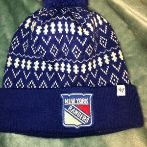 Accessories - 3 for $20 Sale 💕! New York Rangers winter Hat